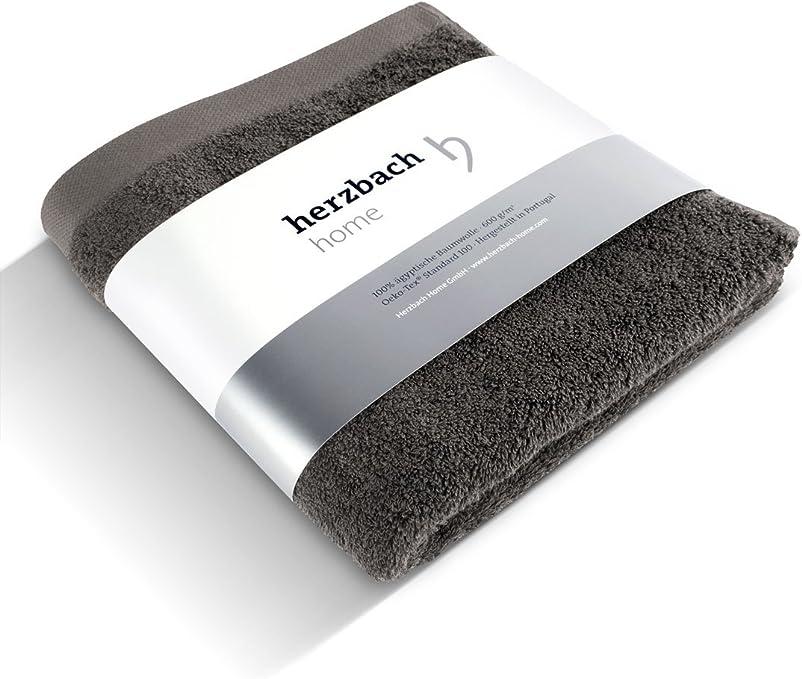 herzbach home - Toalla de mano (100% algodón egipcio, 50 x 100 cm ...