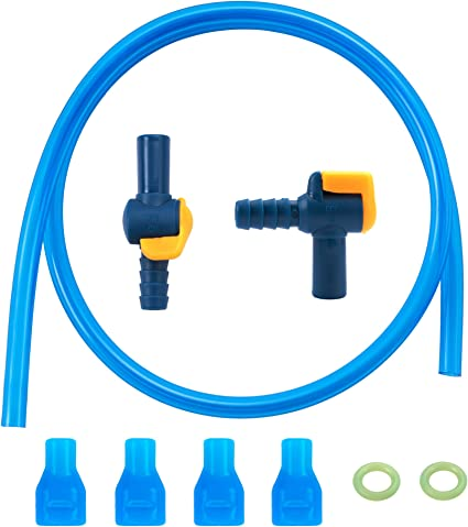 Trinkblasen Mundstück Gerade Düse Blase Beißen Ventil für Trinkbeutel Ersatz