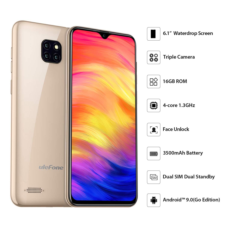 TechAdict ️ Unlocked Smartphone, Ulefone Note 7 (2019