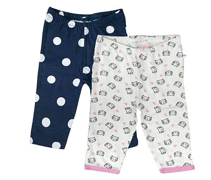 Sofie & Sam - Combo Pack de 2 Pijamas/Leggings para 3-6 Meses