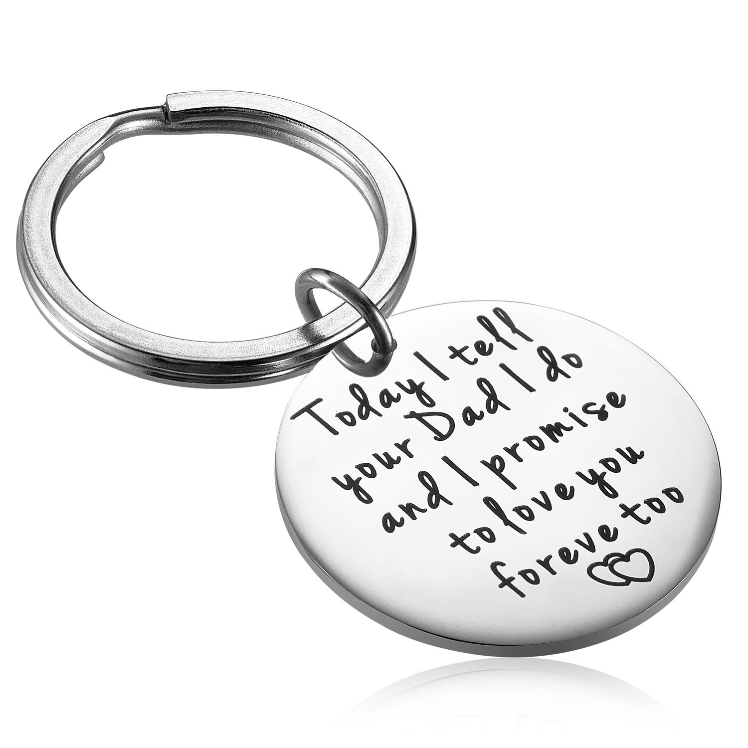 Amazon Alxeani Stepson Keychain Stepdaughter Gifts Step