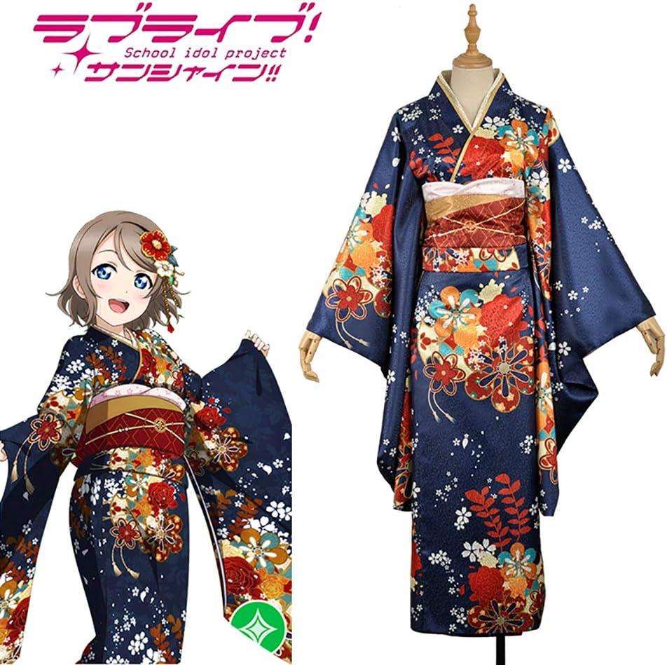LJLis Mujeres Albornoz Disfraces Traje De Cosplay Kimono Japonés Yukata Batas: Amazon.es: Deportes y aire libre