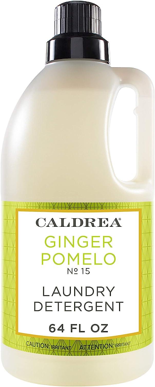 Caldrea Laundry Detergent, Ginger Pomelo, 64 oz
