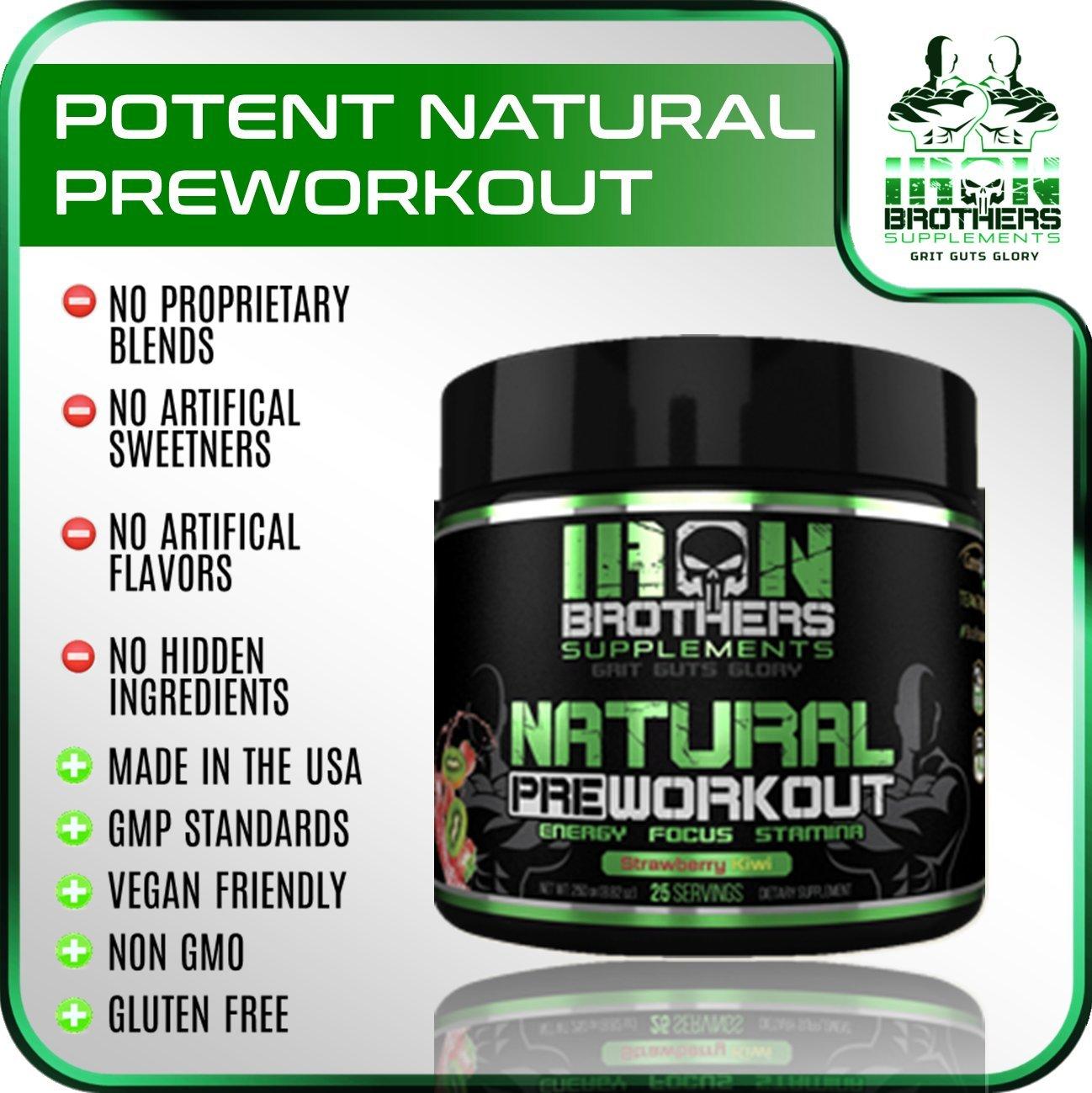 Amazon.com: Natural Pre Workout – Polvo de energía ...