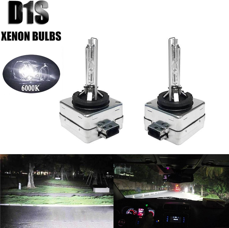 2pcs 35W D1S D1C D1R HID Xenon Bulbs Lamp Headlight Replacement 66141 66142 New