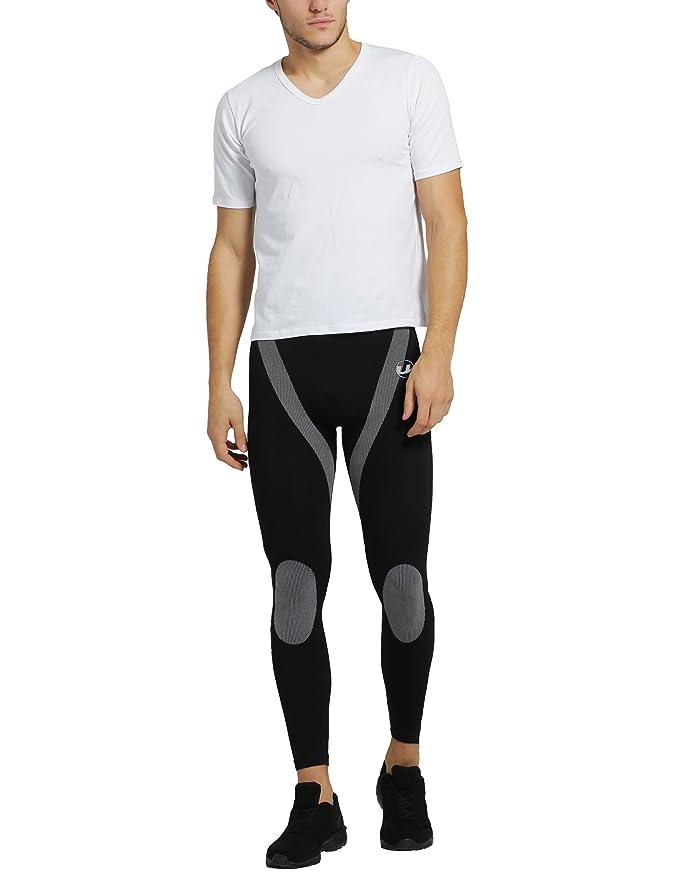 Ultrasport - Camiseta de manga corta con cuello de pico para hombre: Amazon.es: Deportes y aire libre