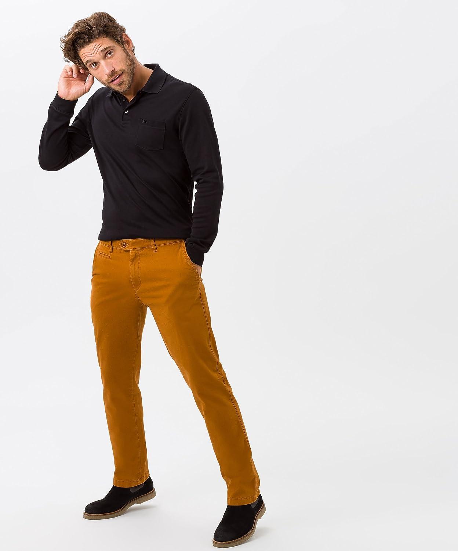 BRAX Men's Style Triplestone Chino Flachgewebe Trouser Curry