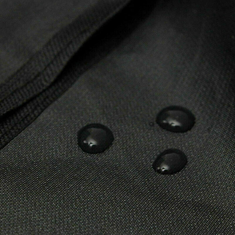 N//Y Chiminea Cover Patio Exterior Impermeable Resistente a la Intemperie Chimenea Fountain Fountain Funda Protectora con cord/ón para Fijar 122x21x61cm