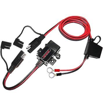 MOTOPOWER MP0609AA-UK - Kit de Cargador USB de 3,1 A con Tapas de ...