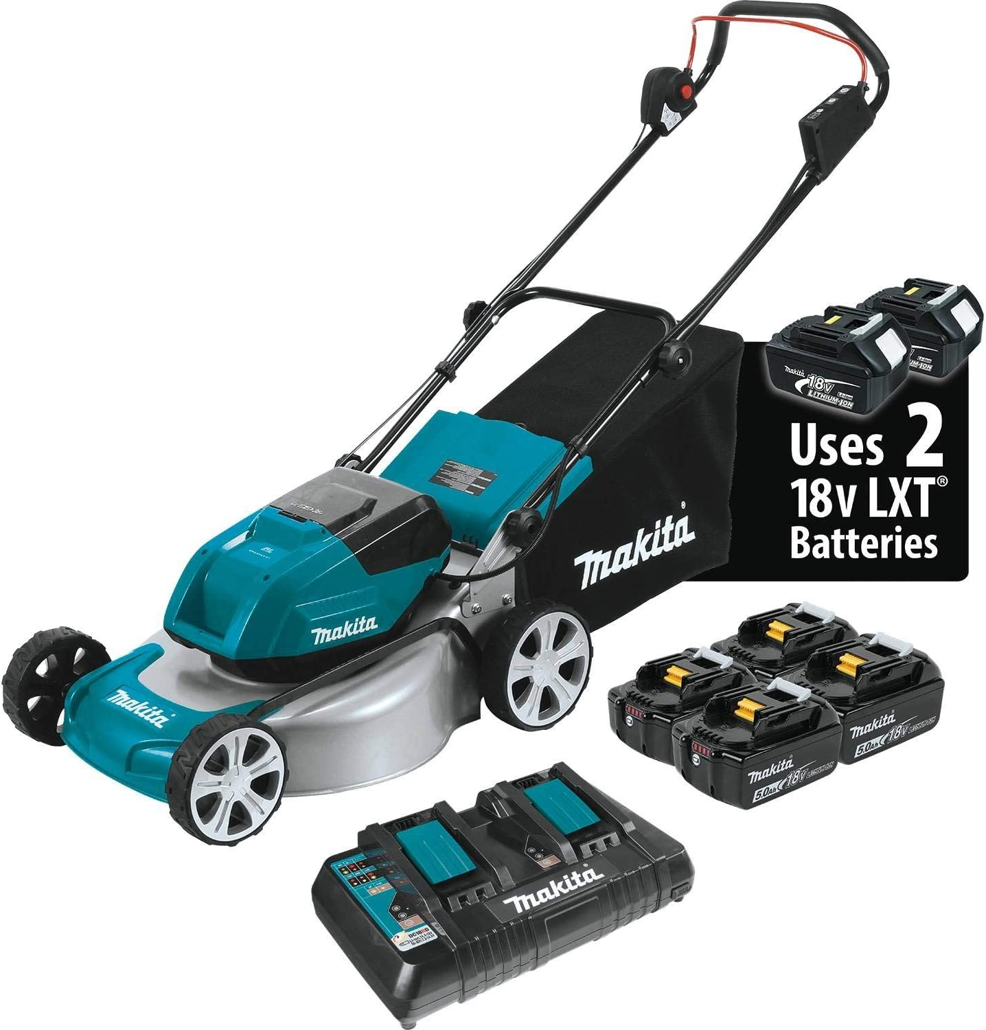 Makita XML03PT1 battery Lawn Mower