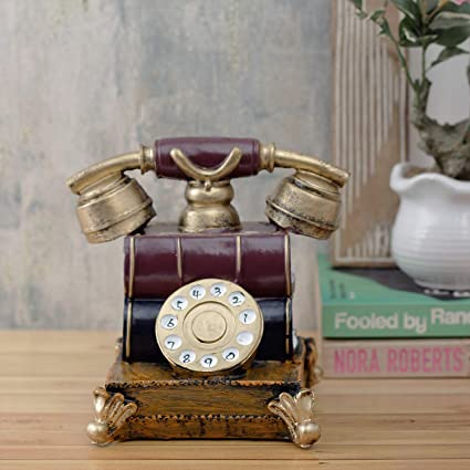 Buy A Vintage Affair Showpiece For Home Decor Quirky Large Vintage Telephone Accent Online At Low Prices In India Amazon In