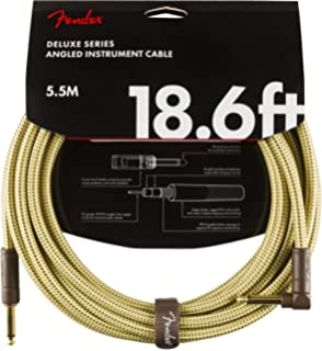 FENDER Custom Shop Cable 5,5m Tweed gerade Gitarrenkabel gerade