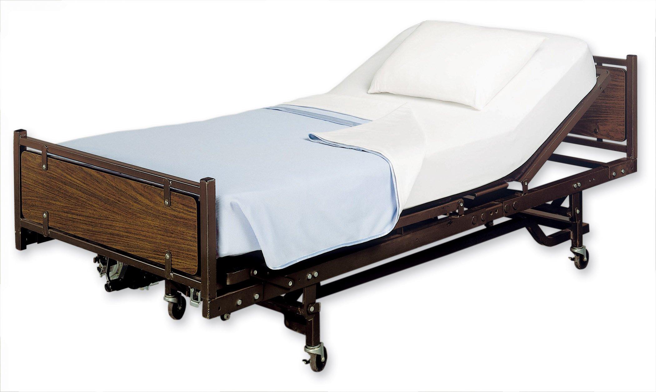 ProCare Flat Hospital Bed Sheet, White