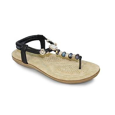 59820476b Lunar Ladies Murano Beaded Sandal
