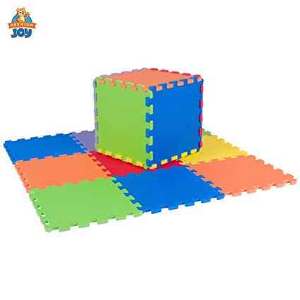 Amazon.com: Foam Puzzle Play Mat for Kids - 3x3 Feet Floor ...