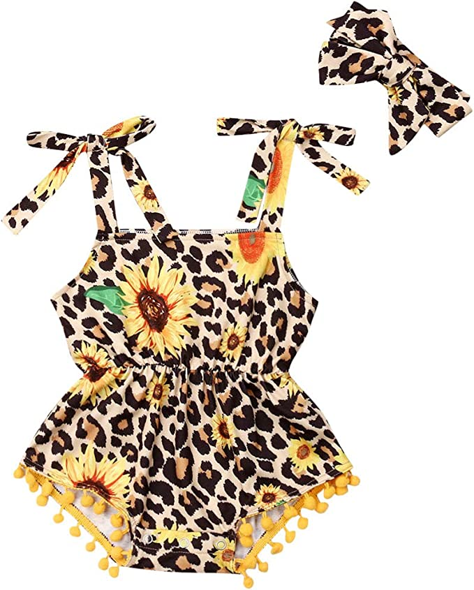 Sunsuit Children Outfits Cute Alpaca Llama Tassel Newborn Baby Romper Jumpsuit