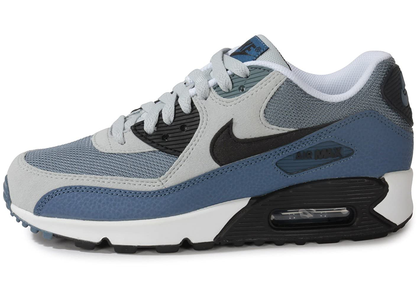 promo code 8f5c2 bed61 NIKE Junior Air Max 90 Grey Black Grey Grey Size  4.5  Amazon.co.uk  Shoes    Bags