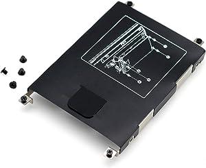 "Deal4GO 2.5"" SSD SATA Hard Drive Caddy HDD Bracket Frame w/Screw for HP Probook 640 G1 645 G1 650 G1 655 G1 738395-001"