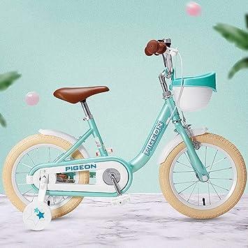 K-G Bicicleta Infantil Bicicleta for niño 3-8 años de Muchachas y ...