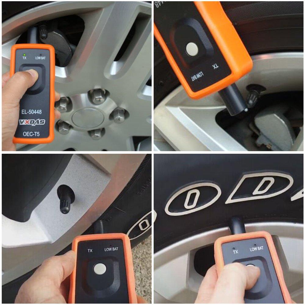 VXDAS EL-50448 Auto Tire Pressure Monitor Sensor TPMS Relearn Reset Activation Tool OEC-T5 for GM Series Vehicle by VXDAS (Image #2)