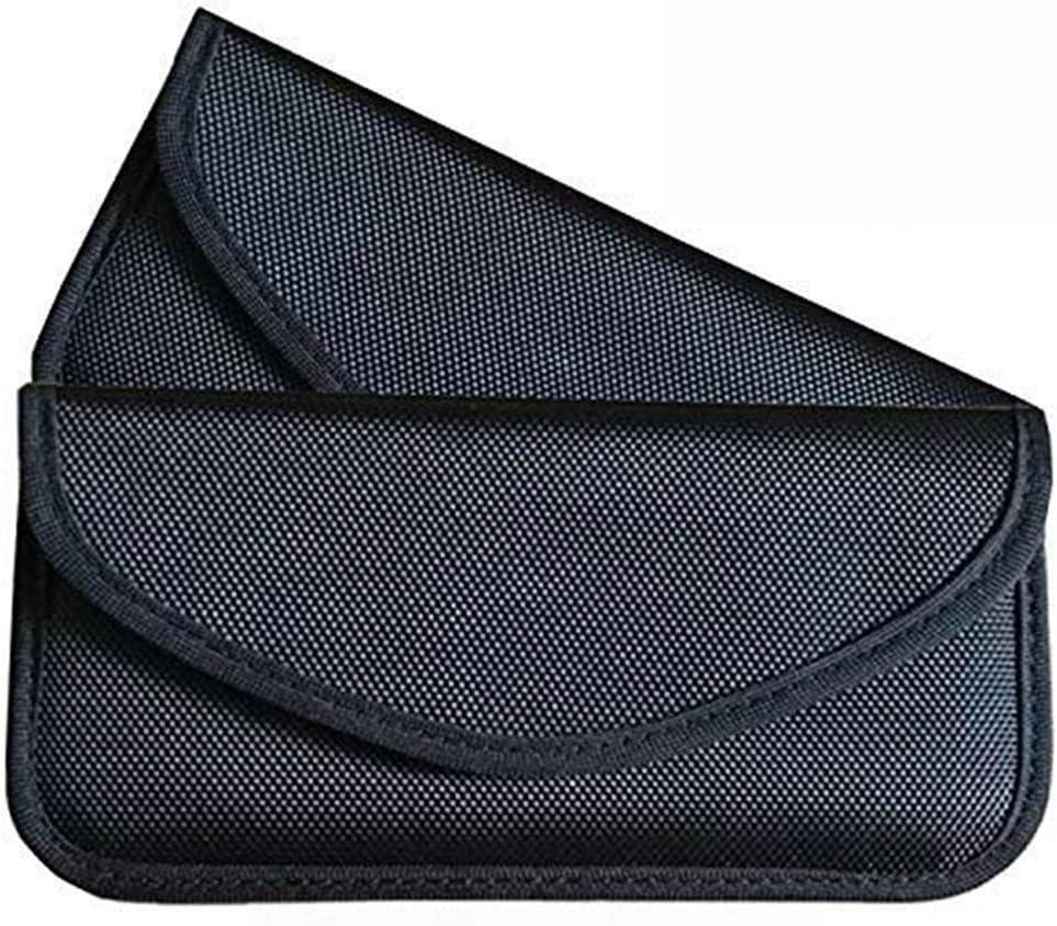Faraday Bag Signal Blocking Bag Shielding Pouch for Car Key WeTest Upgraded Faraday Key Fob Protector Box RFID Signal Blocking Box LJ-JSL-102503