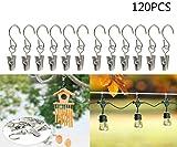 JM-capricorns 120pcs Party Light Hanger,Gutter