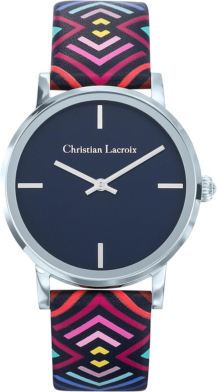 Reloj Christian Lacroix Piel, Multicolor–Mujer–36mm