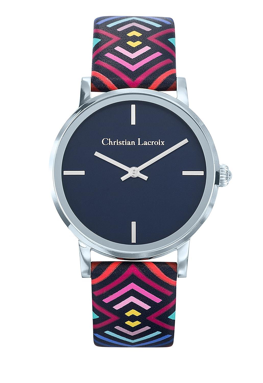 Zeigt Damen – Christian Lacroix – unglaubliche Armband Leder bedruckt – 8010301