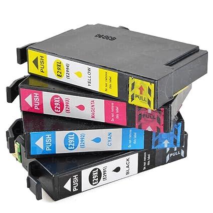 4 x Cartuchos de Impresora VKD para Epson PK 29 XL Expression Home ...