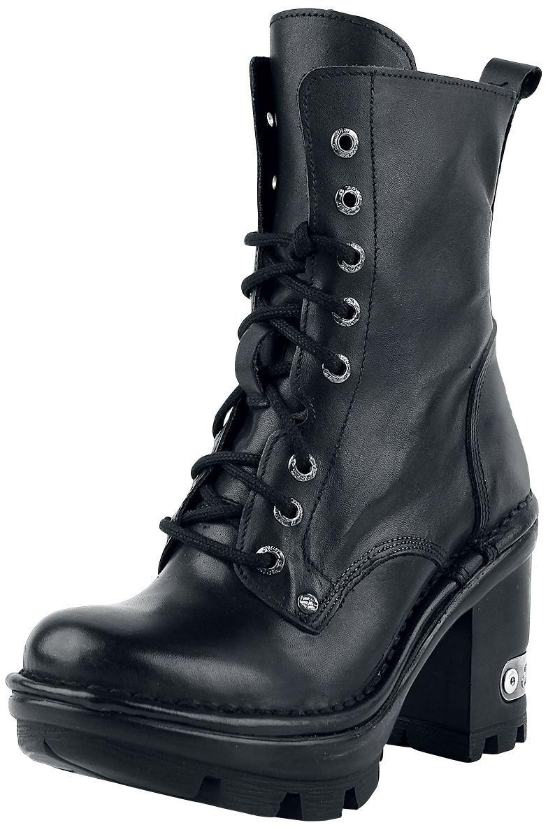 New Rock Womens M.NEOTYRE07X-S1 Leather Boots38 EU Negro