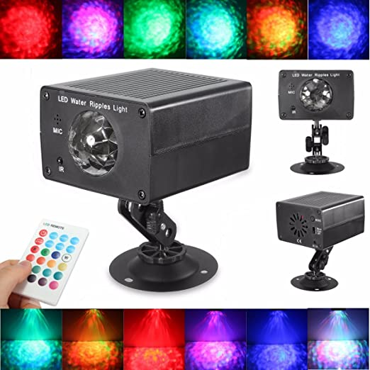 King DO WAY Kit Proyector LED de 6 colores, lámpara de escena, con ...