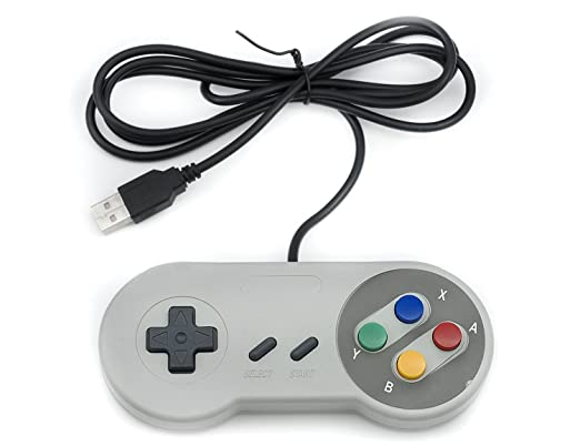 20 opinioni per Qumox SNES gioco PC GamePad controllore SFC per Windows PC USB Super Famicom