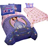 Disney Sofia The First Princess 6pc Twin Size Bedding (Comforter, Two  Pillow Shams U0026