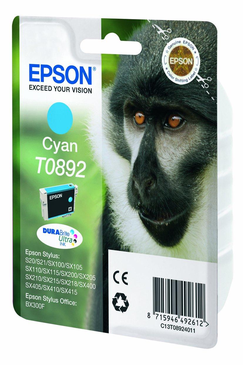 Epson C13T08914011 - Cartucho de tóner adecuado para BX300F, color negro válido para los modelos Stylus y Stylus Office SX115, SX100, BX300F y otros, ...