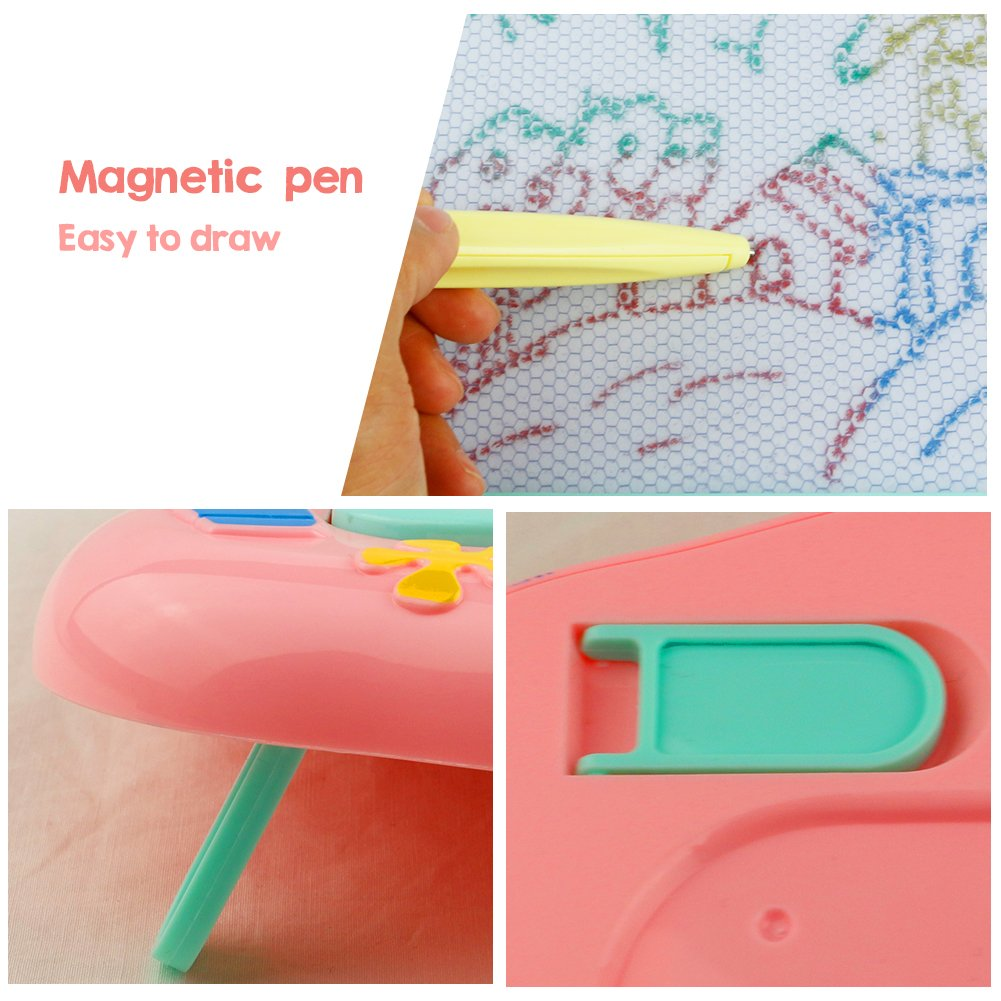 Magna Doodle Magnetic Drawing Board,Doodle Board for The Children,Educational Drawing Toy for Kids Over 3 Years Old (Random Delivery)