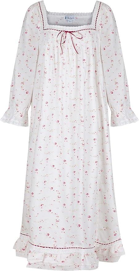 The 1 for U 100/% Coton Femmes Style Victorien Chemise de Nuit 7 Tailles Kate