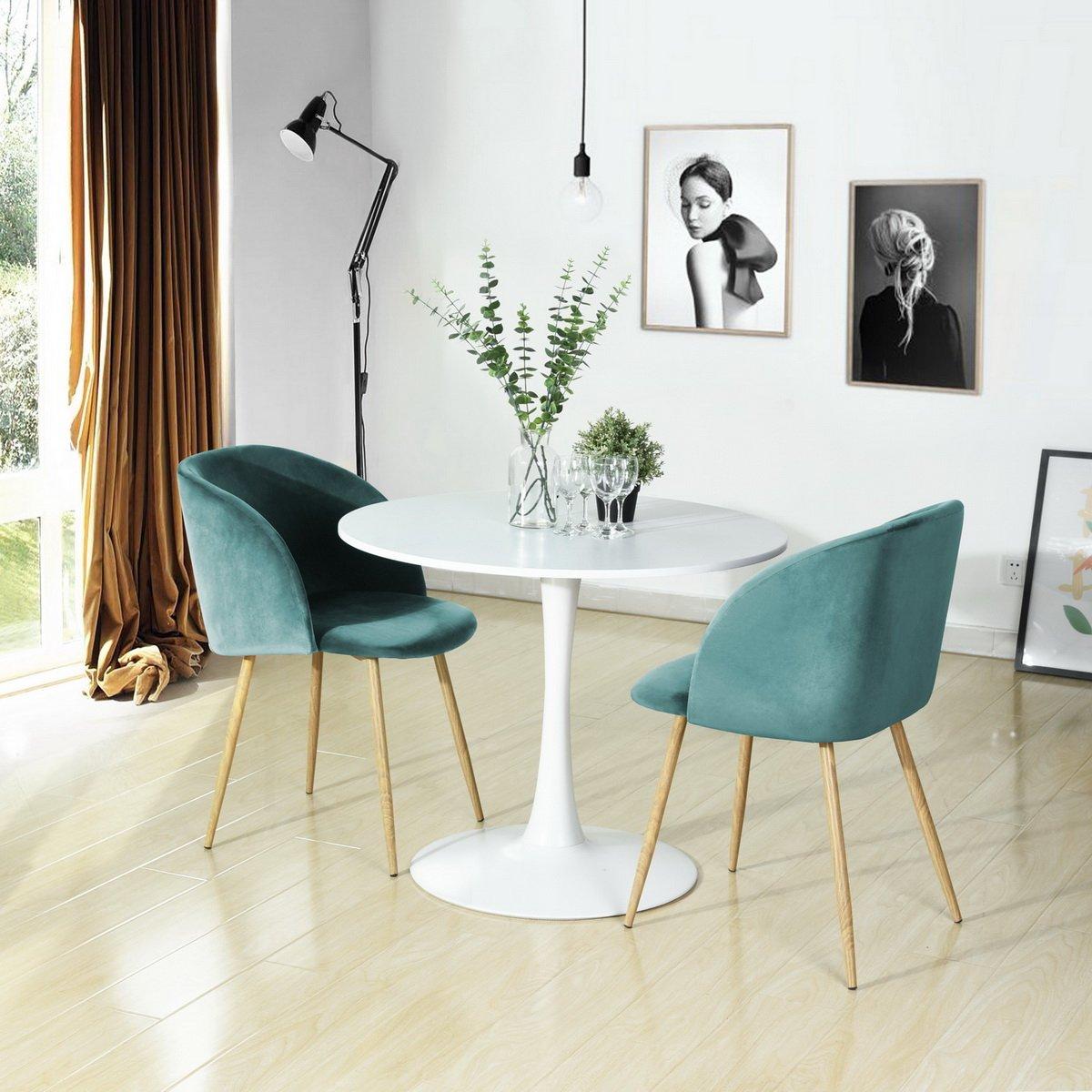 Mid Century Modern Silky Velvet Living Room Accent Armchair ...