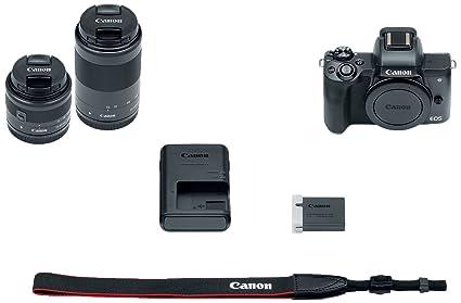 Buy Canon EOS M50 Mirrorless Camera Kit w/EF-M15-45mm + EF-M 55