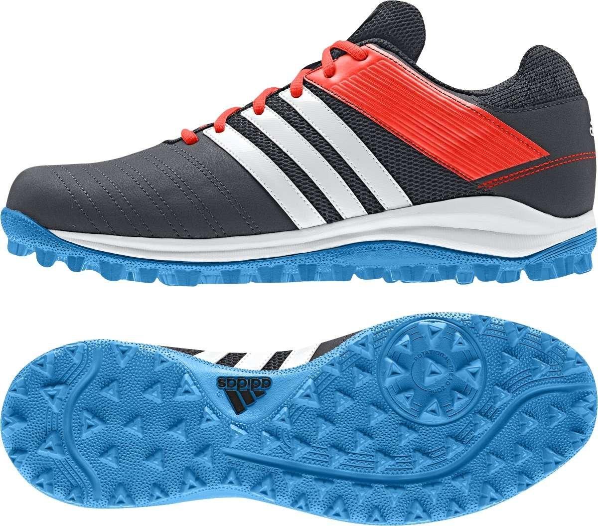adidas Mens SRS 4 Hockey black breathable mesh upper traxion sole shoes M29763
