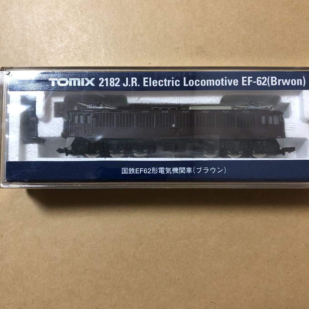 Nゲージ TOMIX EF62形 ブラウン B07SDM8HQG