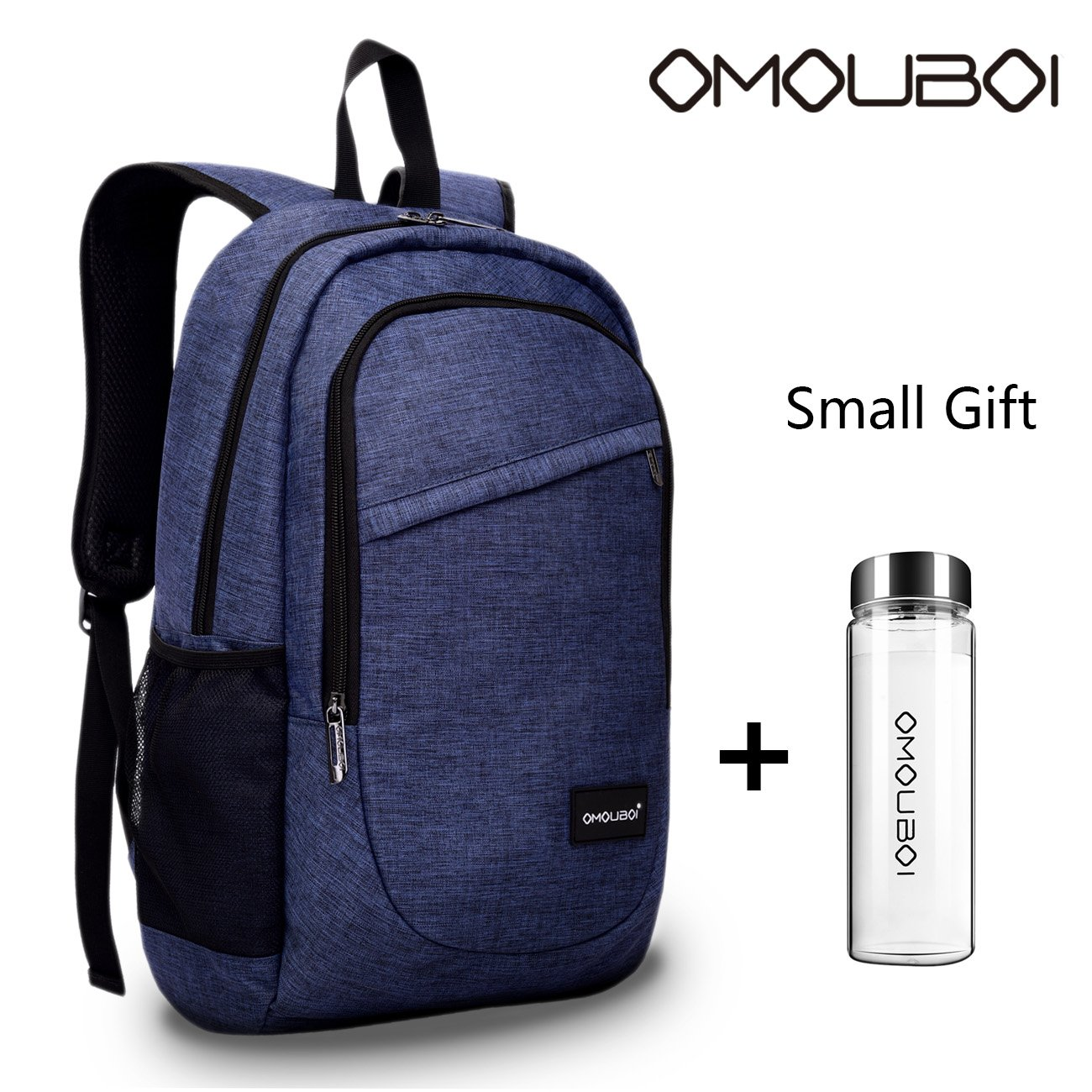OMOUBOI Business Laptop Backpack, Anti-Theft Waterproof Travel Backpack