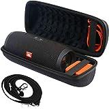 Khanka Hard Travel Case for JBL Charge 4 Portable Waterproof Wireless Bluetooth Speaker (Inside Black)
