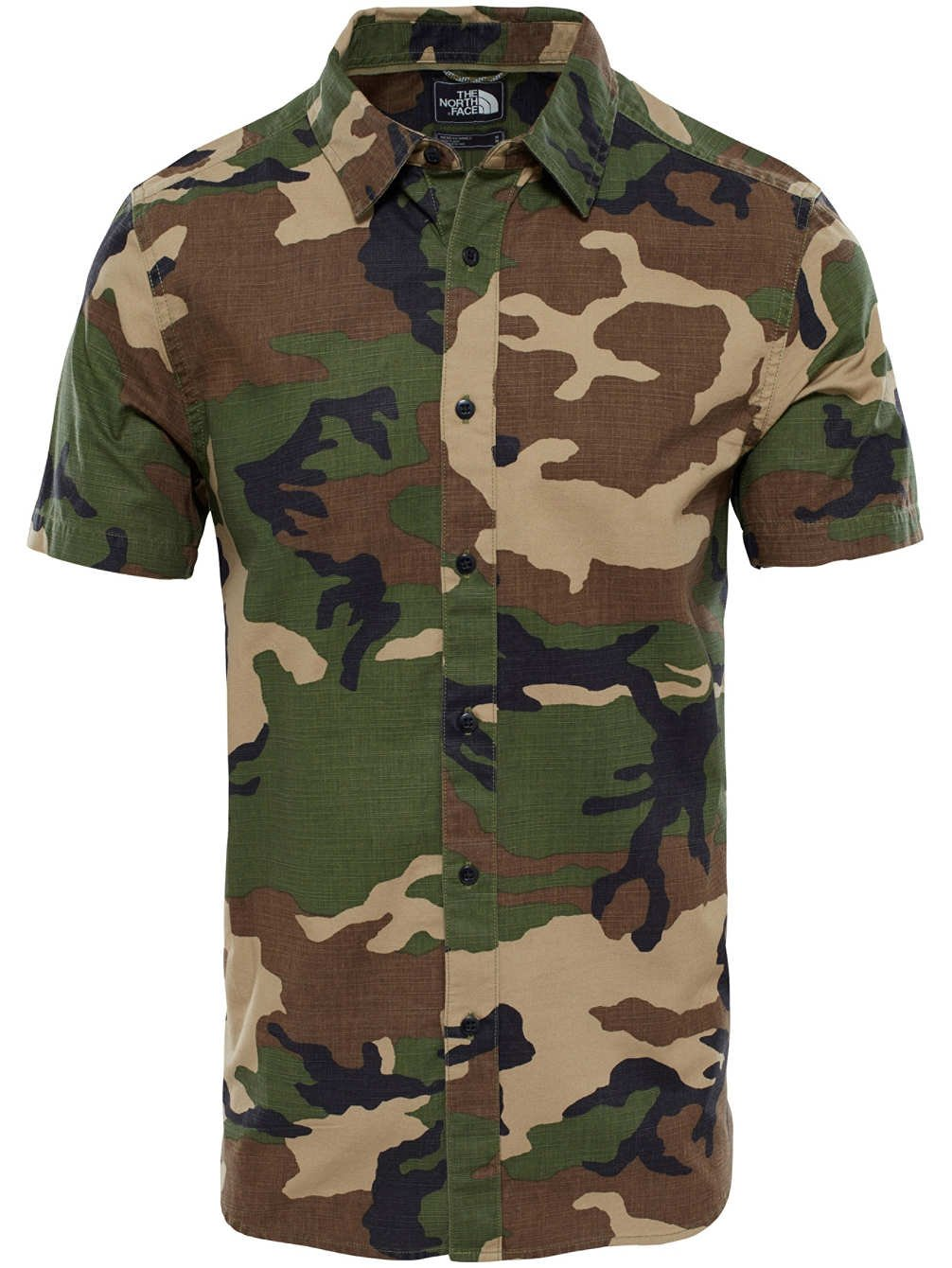 THE NORTH FACE M SS Bay Trail Shirt, Herren