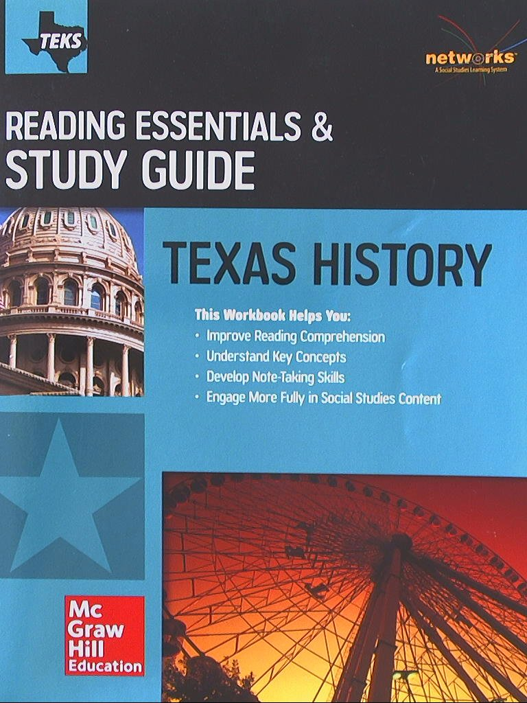 Texas History, Reading Essentials & Study Guide, Student Workbook ...