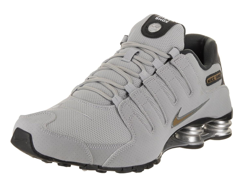 Nike Heren Shox NZ Loopschoenen Metallic Goud Anthracite goedkoop aanbod 4E7T35