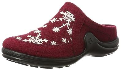 Romika Damen Mikado 98 Pantoffeln, Rot (Bordo-Kombi (411)), 37 EU
