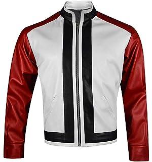 Amazon Com King Of Fighters 14 Game Rock Howard Chaqueta De Piel Color Rojo Y Blanco Xxs 3xl Clothing I am the real ron howard. king of fighters 14 game rock howard