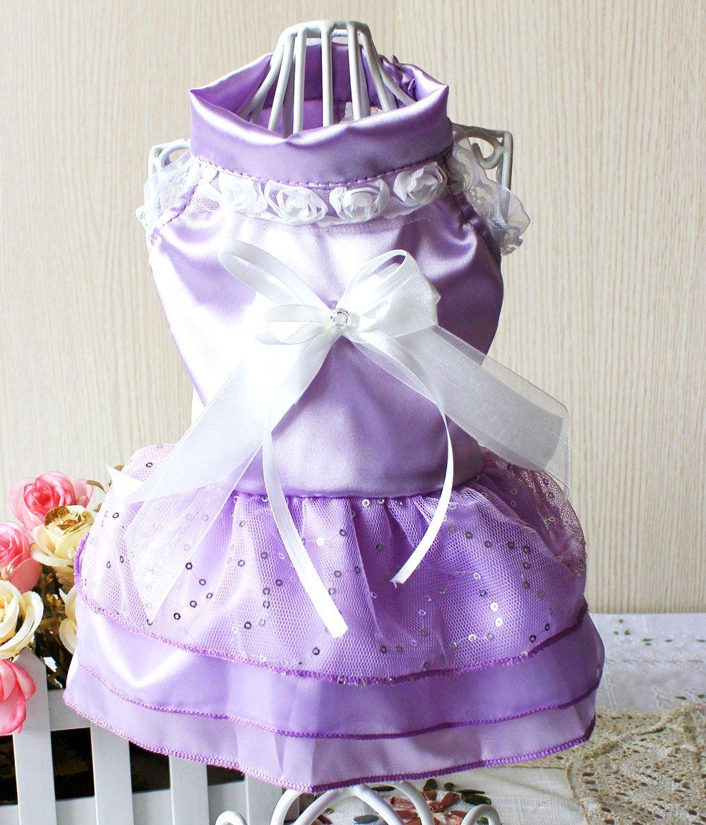 smalllee _ LUCKY _ ranger femelle Petit Moyen Grand Chien Chat robe de mariée SMALLLEE_LUCKY_STORE
