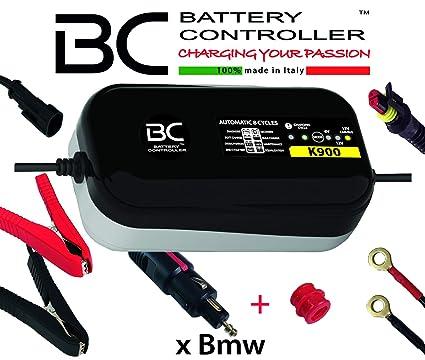 BC K900 - 6/12V 0,9A - Cargador y Mantenedor de Baterías con 3 ...