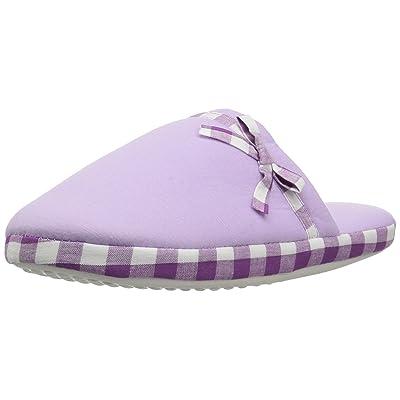 Aerusi Women's Checker Slide Slipper   Slippers
